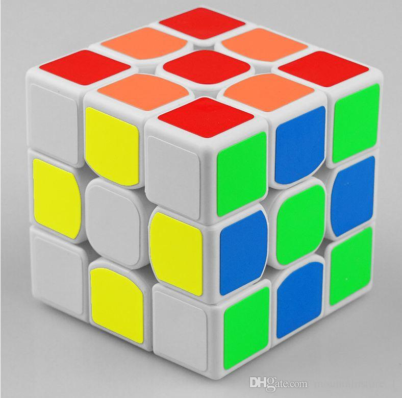 New Classic Toys 3x3x3 ABS Sticker Block High Quality Speed Magic Cube Colorful Learning&Educational Puzzle Cubo Magico Toys