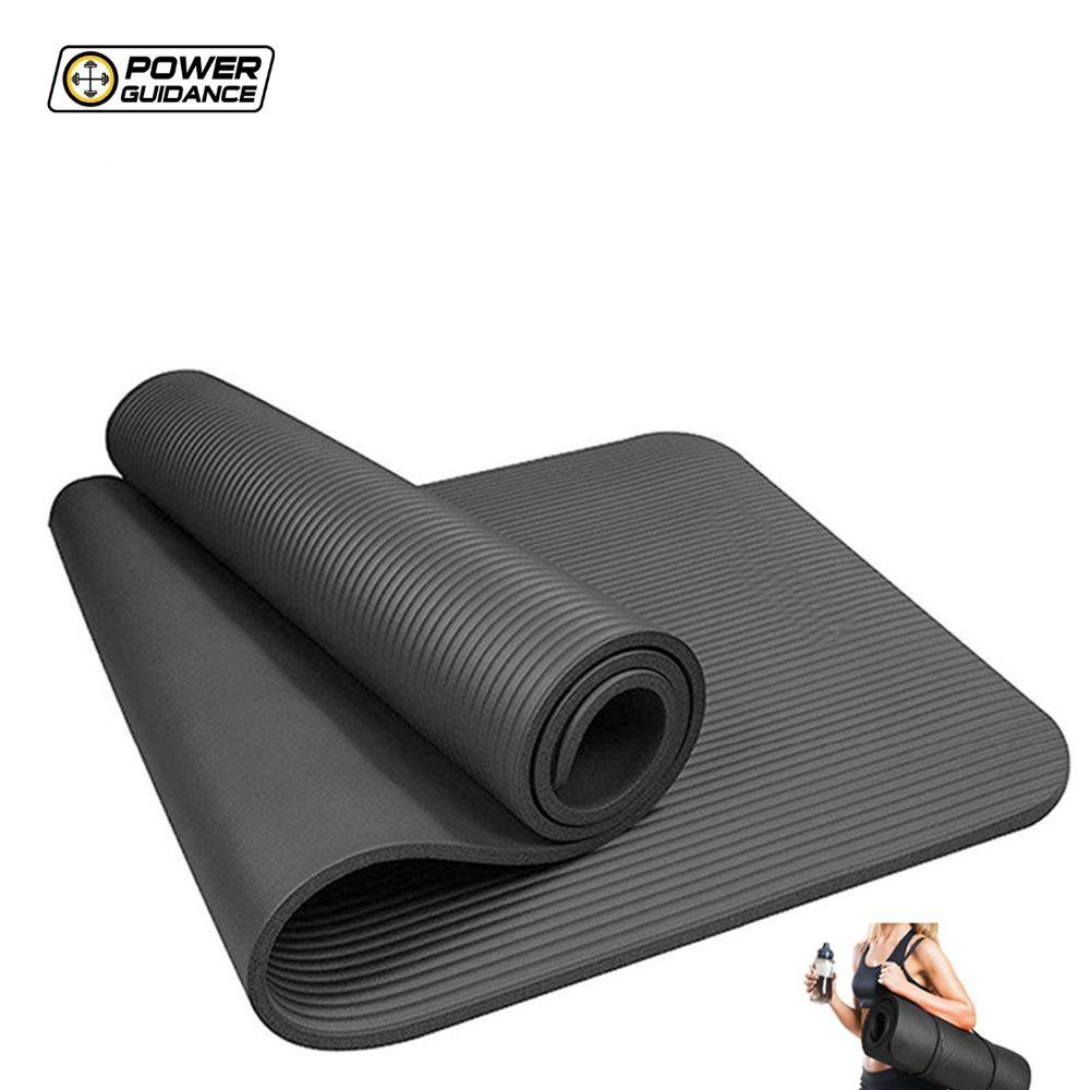 gro handel power guidance 10 mm dicke nbr yoga matte f r. Black Bedroom Furniture Sets. Home Design Ideas