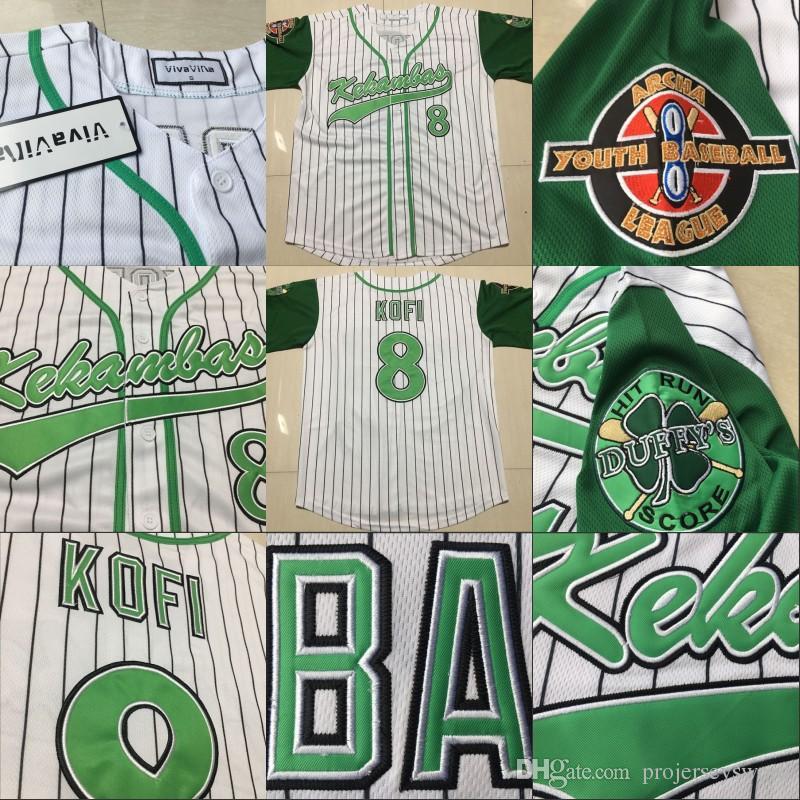 2019 USA Movie Jerseys Kekambas Mens Lady Youth 8 Kofi Evans 1 Jarius G  Baby Evans Alternate Uniform Hardball Includes ARCHA Patch Custom Jerseys  From ... 095efbde51