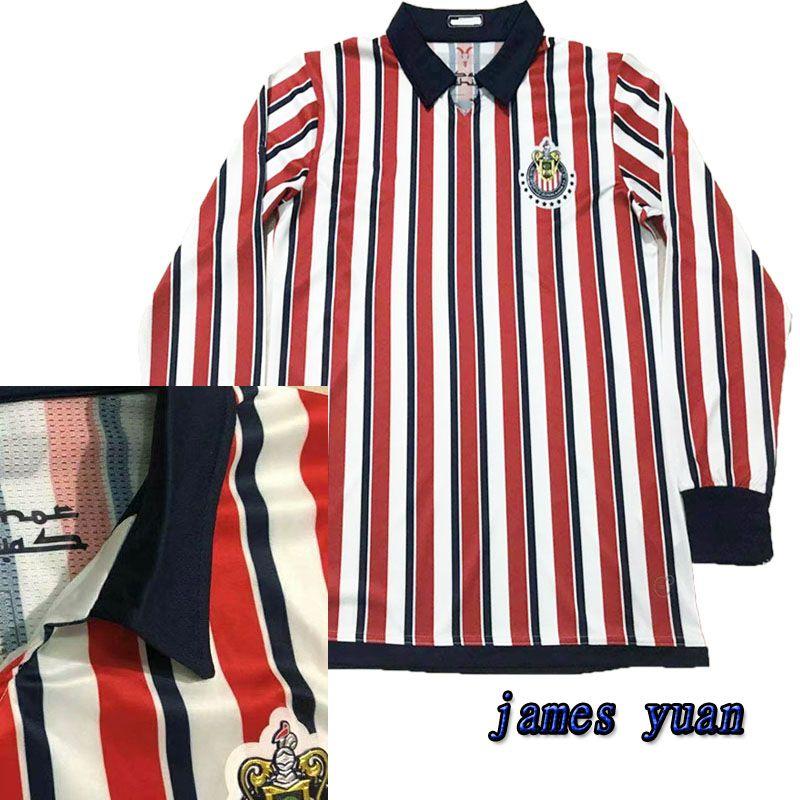 2019 Thailand Football Shirts Hailand Chivas De Guadalajara 2018 World Cup Soccer  Jerseys Long Sleeve 2019 MEXICO Club A.PULIDO Shirt Jersey FULL From ... b735b38ee
