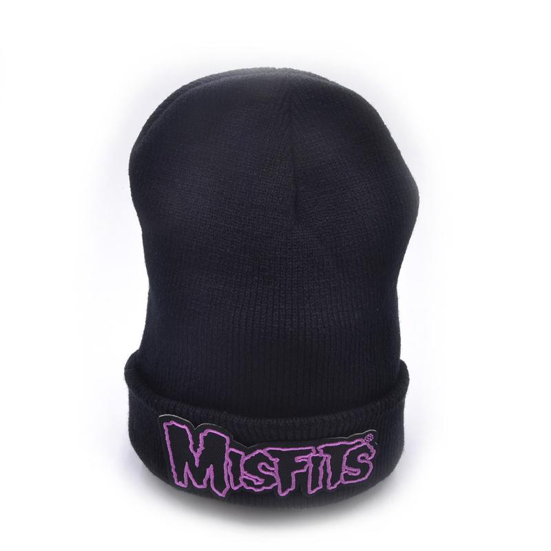MISFITS Embroidery Winter Hats Soft Solid Beanie Men Women Warm Knitted  Caps Knitted Hat Cap Hat From Qupeng9165 2036047bf36