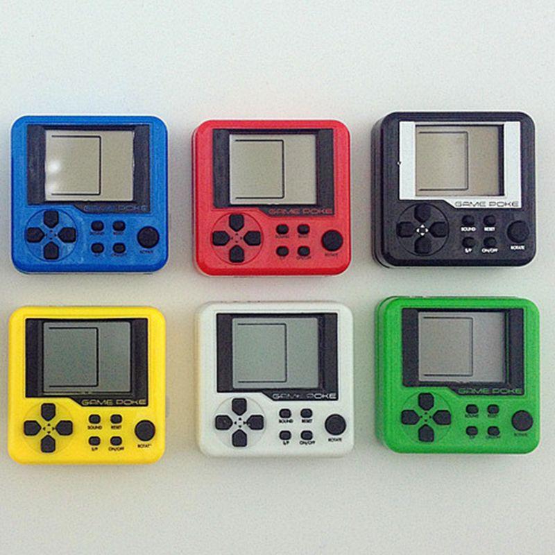 Compre Ultra Pequena Mini Tetris Consola De Juegos Portatiles Para
