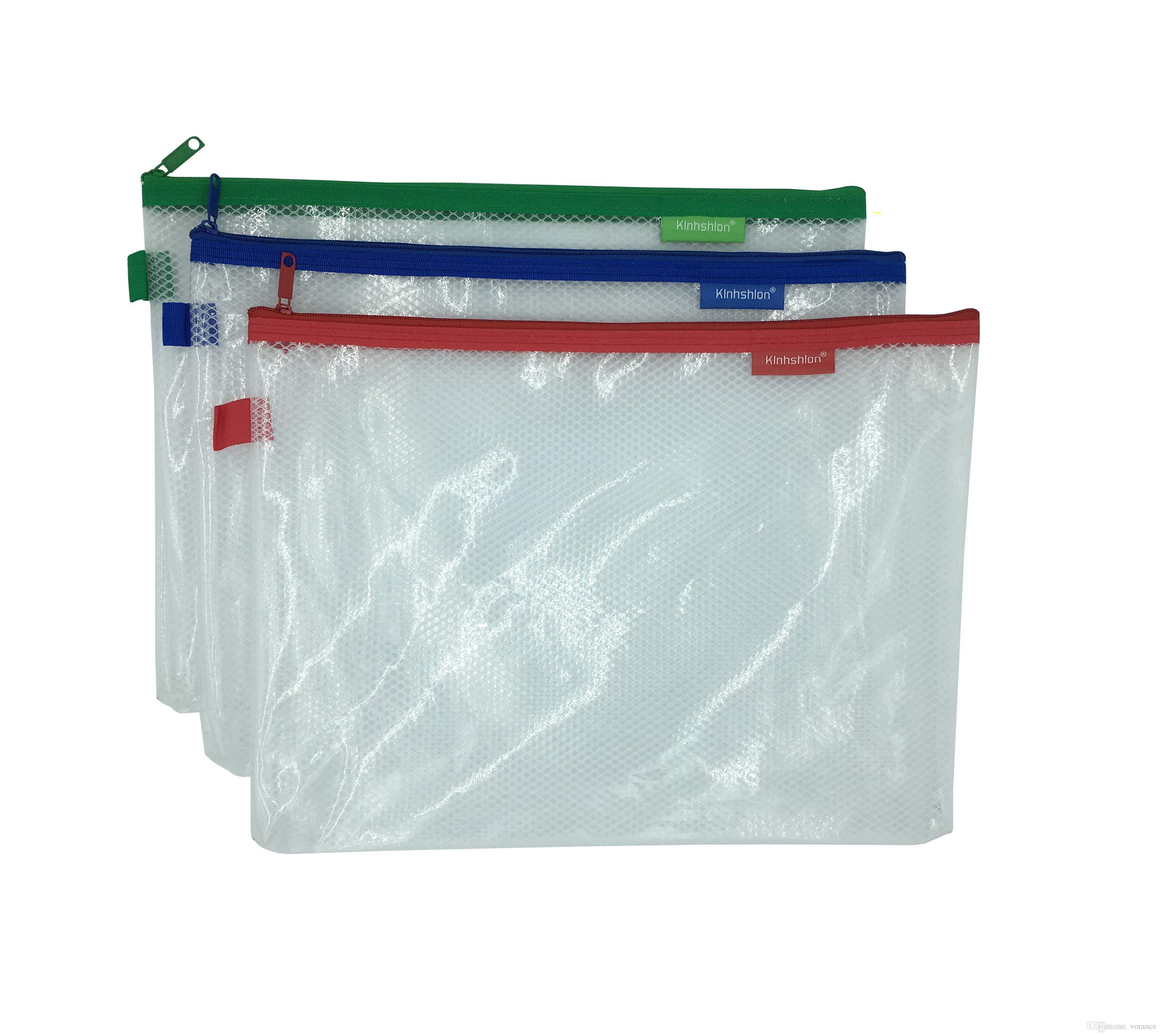 6e755530a4 2019 Kinhshion Plastic Zipper Pouch