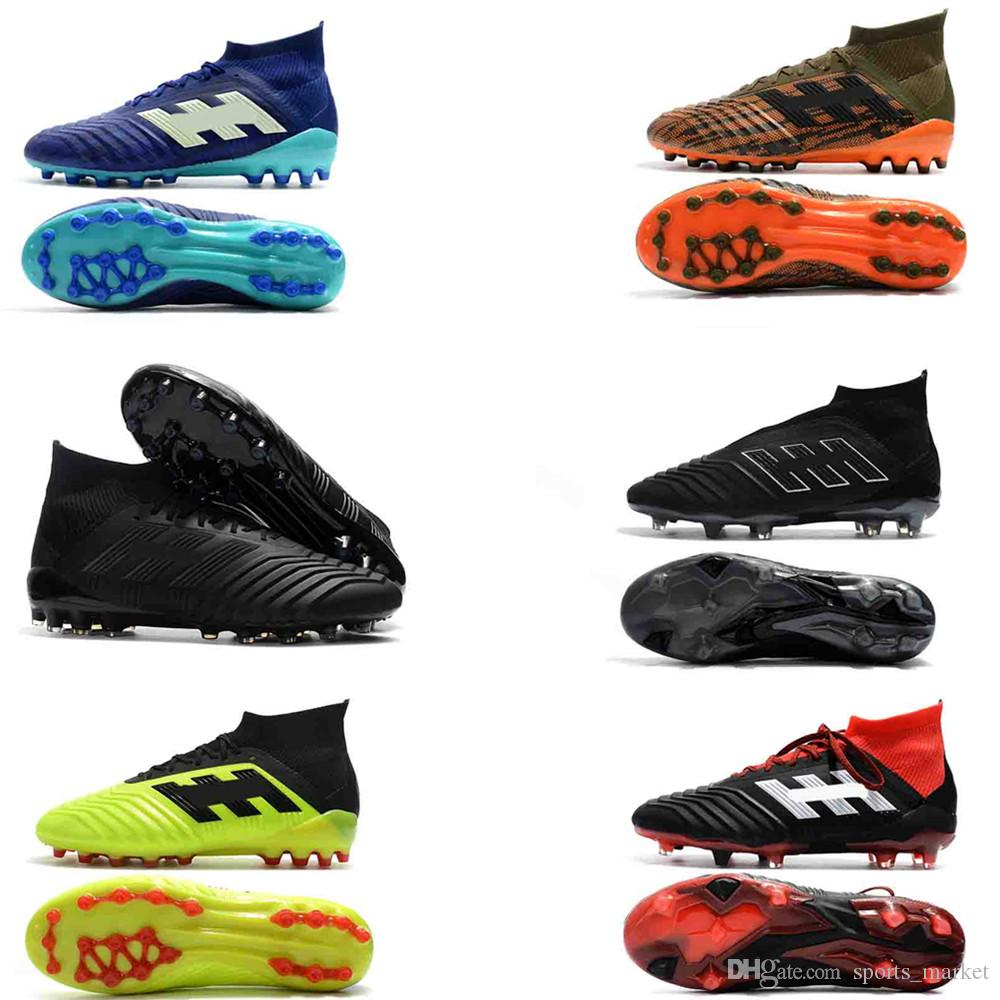 2019 2018 Fishion Predator 18.1 FG Dragon Soccer Shoes Shadow Mode Outdoor  Football Boots ACE Tango 17+ Purecontrol FG AG Soccer Cleats From  Sports market 8577e7f10fd