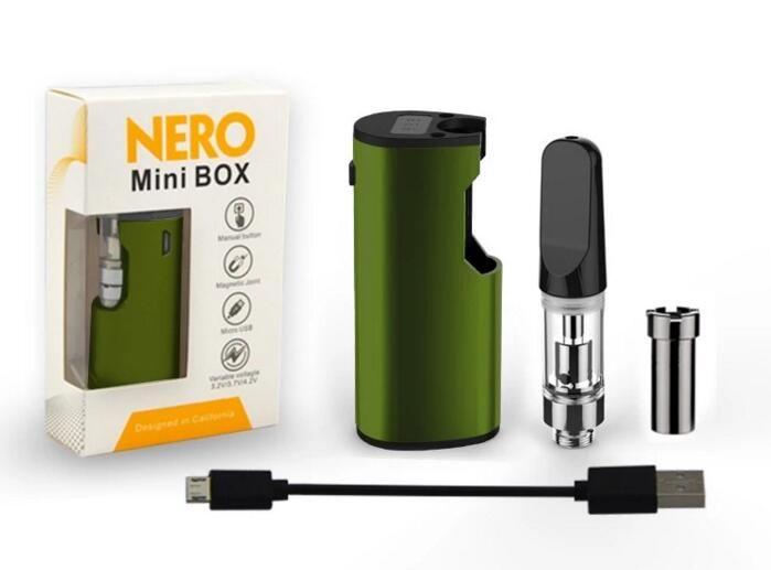 bud touch pen ceramic tip cartridge vaporizer mod 510 thread manual Vmod  mini e cigarette vaping device wax thick oil smoking DHL free