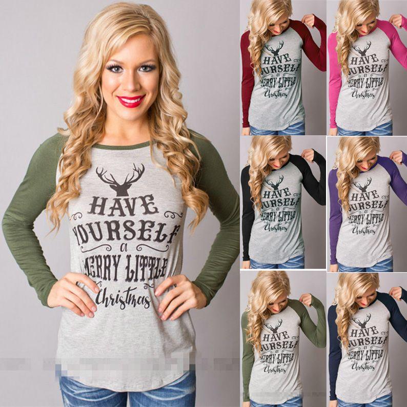 Letter Printing Designer T Shirts Womens Fashion Luxury T Shirt Plus Size  Women Clothing Long Sleeved Women Clothes Brand T Shirt T Shirt Logos  Trendy T ... cab65514a0