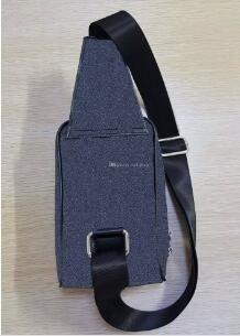 New Arrival Leather Men Chest Pack Single Shoulder Strap Back Bag Crossbody Bags for Women Sling Shoulder Bag Back Pack Travel