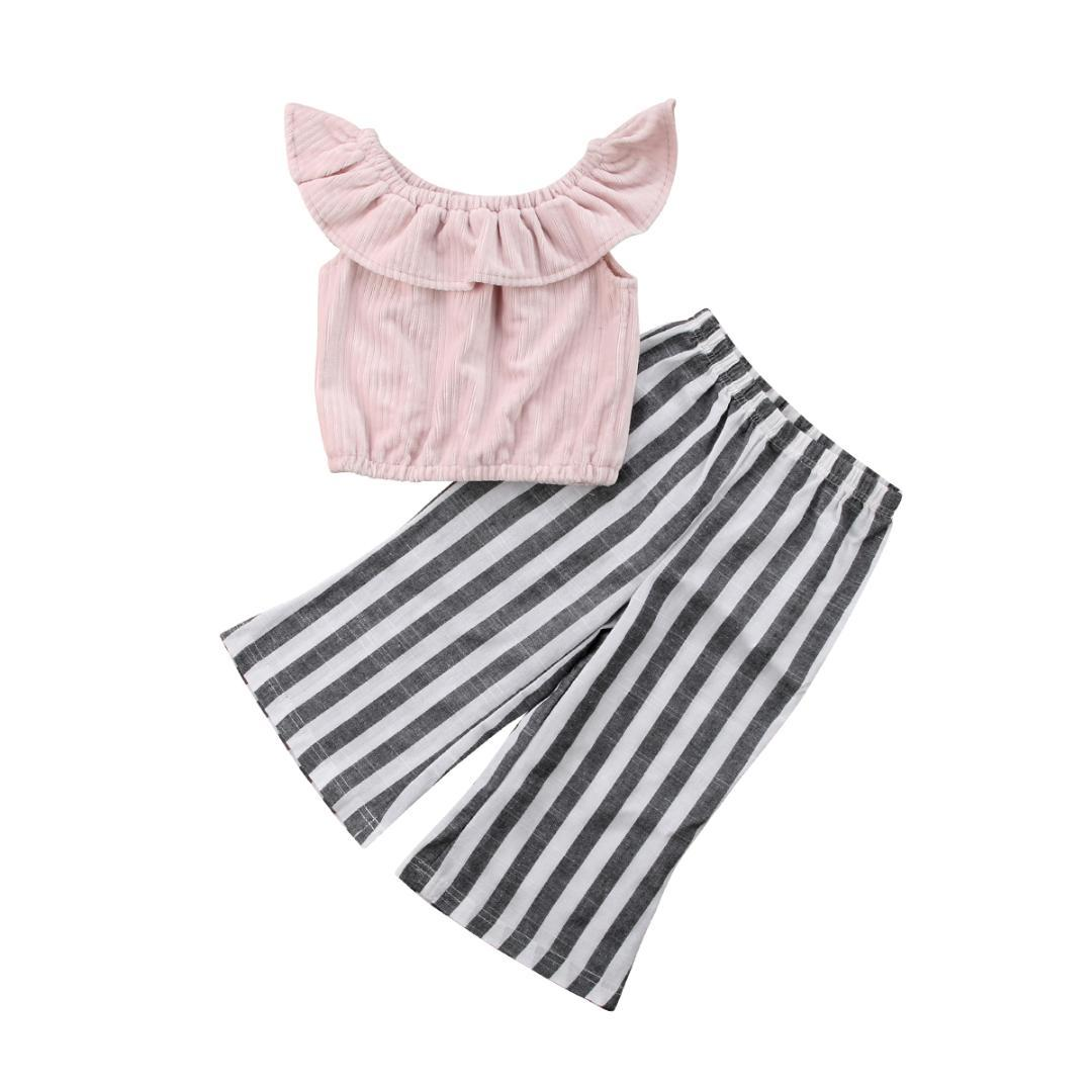 2a8c1f5bb 2019 2018 New Brand High Quality Emmababy Stripes Kids Baby Girls ...