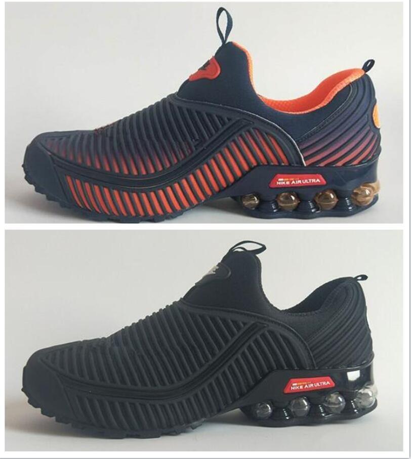 new concept 1d245 34c47 Compre 2017 Nuevo Maxes 2018.5 Hombres Zapatillas De Running Nanotecnología  BENGAL Gris Negro Oro Cojín Esencial Marca Sneaker Energy Boost Zapato Para  ...