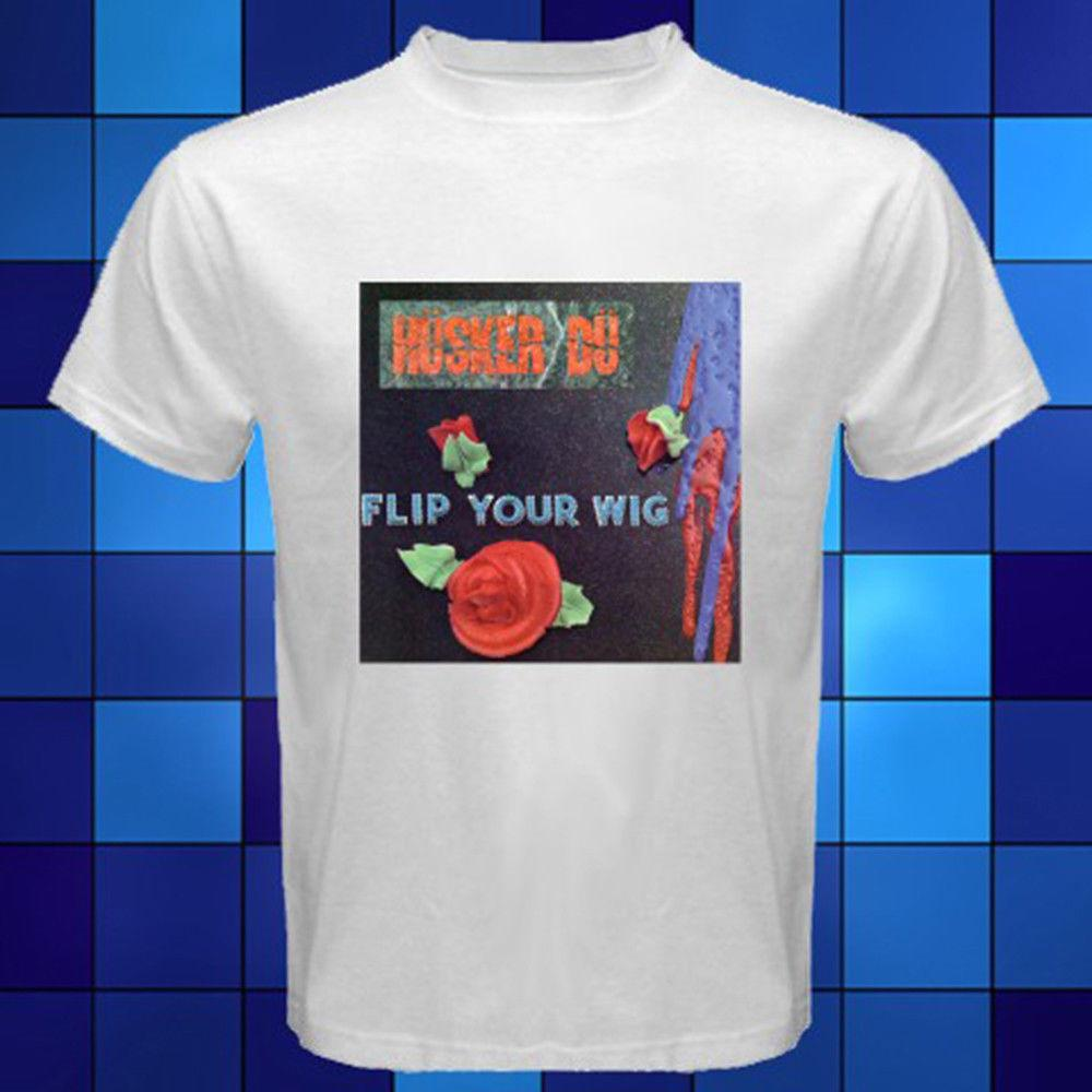 74e5c986 Funny Shirts Short New Husker Du *Flip Your Wig Punk Rock Band White T Shirt  Size S To 3Xl Men Printing O Neck Shirt Tee T Shirts Tees T Shirt From  Wqasysos ...