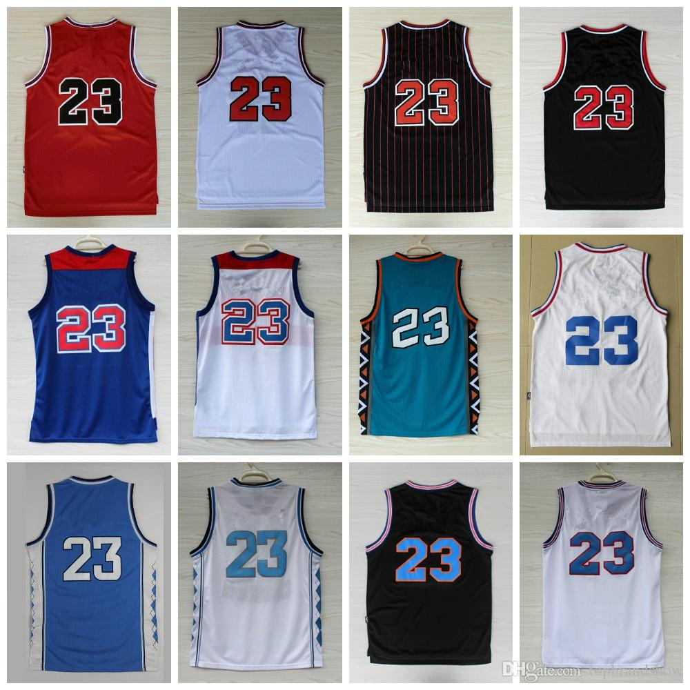 52fa741e6d5 High Quality  23 Michael MJ Jerseys Men s Duke Blue Devils All Star ...