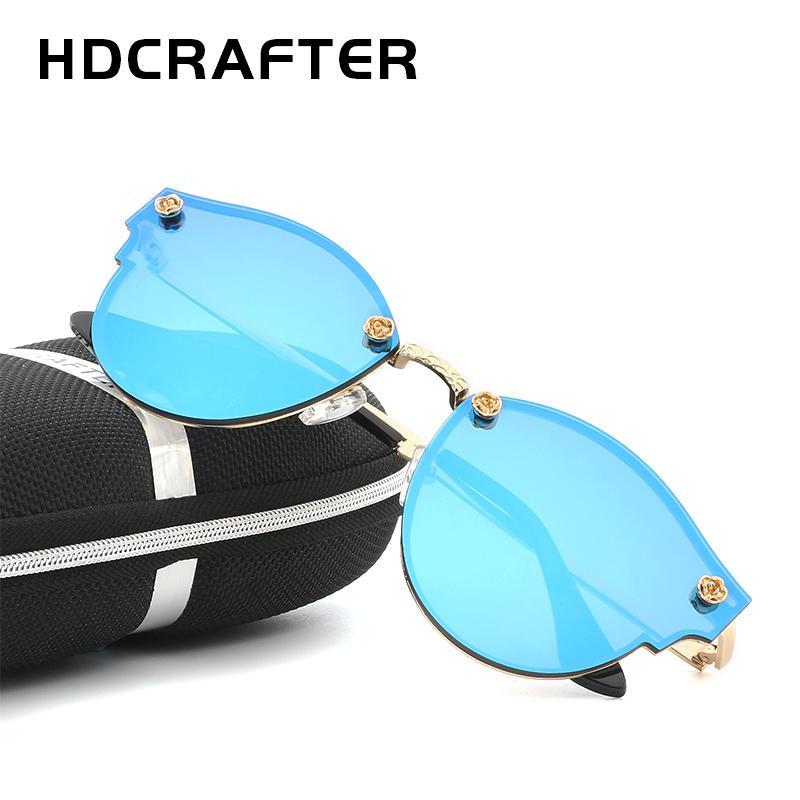 194eebd02ae HDCRAFTER High Quality Luxury Sunglasses Men Women Brand Designer Sun  Glasses UV400 Vintage Sunglass Oculos With Box Kids Sunglasses Locs Sunglasses  From ...