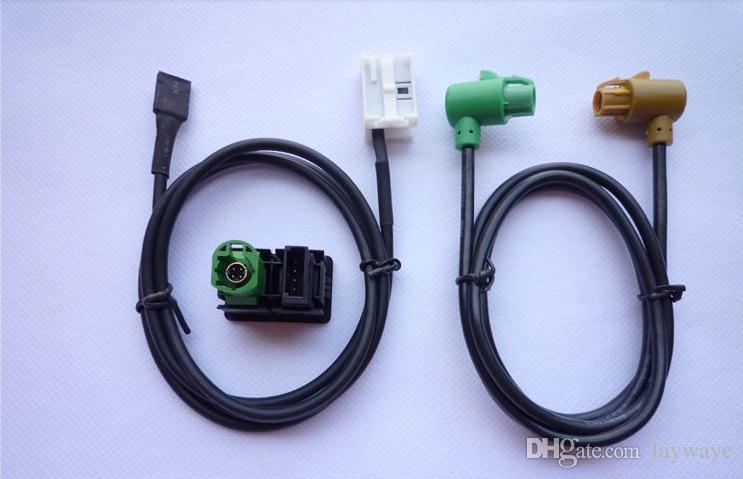 Voiture AUX en entrée Ligne de câble du commutateur USB pour F10 E89 E90 E92 E93 X5 X6 Z 3 série 320i 328i 330i