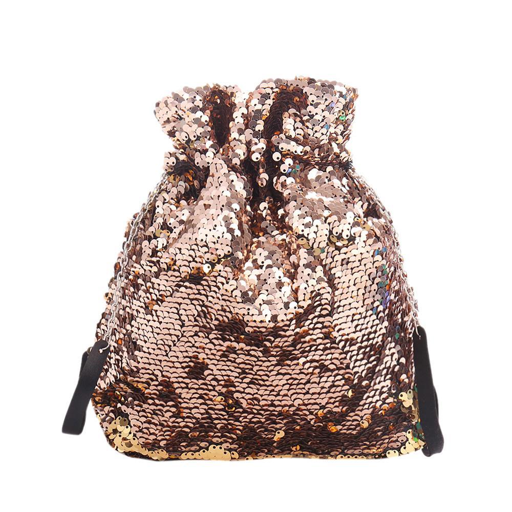 Drawstring Bag Women s Drawstring Bag Backpack Women Girl Sequins ... b0aa1c2cd
