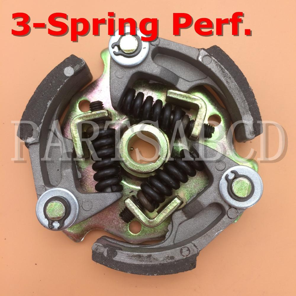 PARTSABCD Performance clutch for 47cc 49cc 2 stroke engine with 3 spring