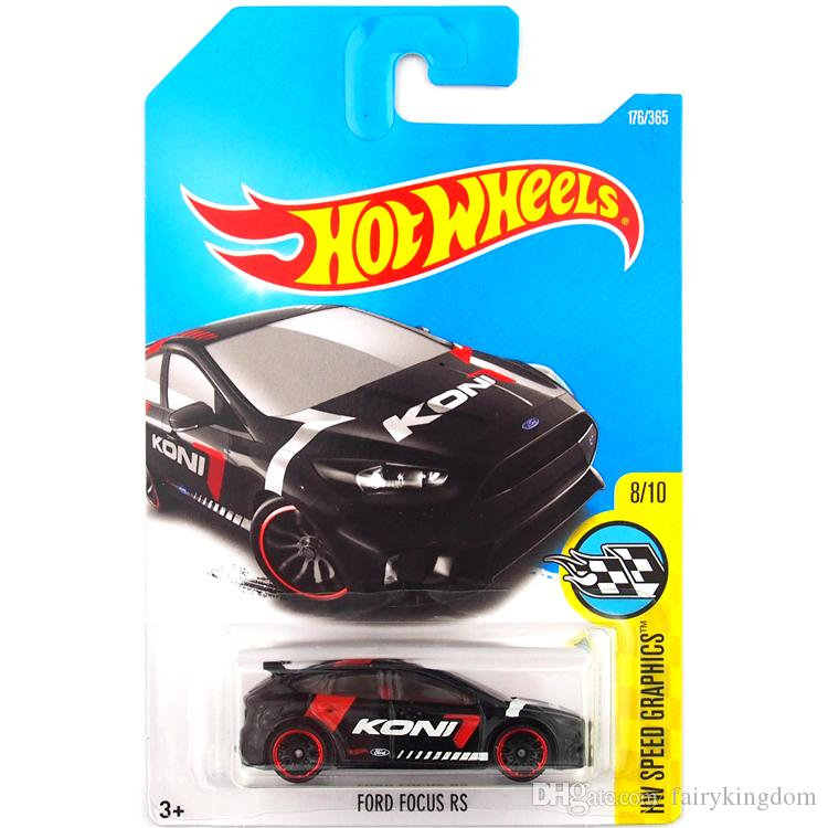 2019 Hot Wheels Ford Focus Rs Car Model Toy 176 From Fairykingdom