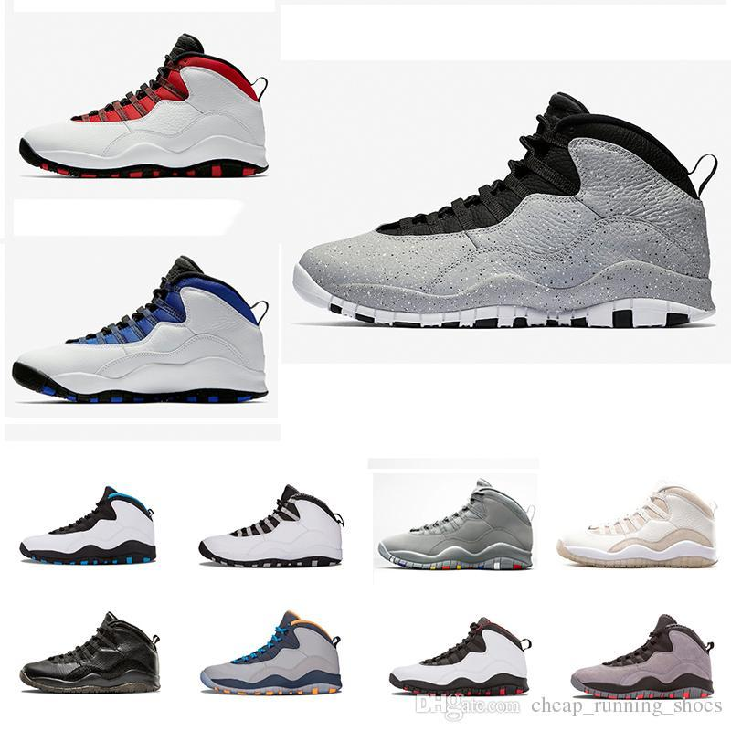9c04214d64b6 Cement Westbrook X I M Back 10 10s Men Basketball Bobcats Chicago Cool Grey  Powder Blue Steel Grey Black White Shoes Sport Sneakers East Bay Shoes Shoes  ...