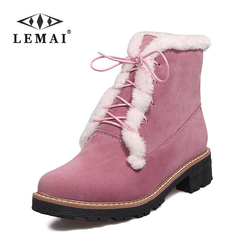 bf0f756908e5 BRUGAROLAS – Hot Sale Women Snow Boots Fashion middle Boots Woman Genuine  Cowhide Leather Snow Boots