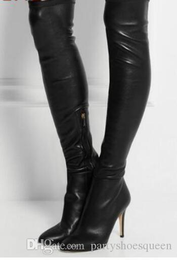 2018 Women Thigh High Boots Lady Over