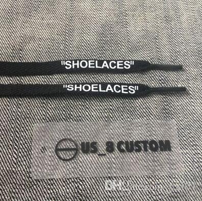 Wholesale 2018 Designer Shoe Parts 160CM SHOELACES Black White Orange Green Purple Cheap Sale Fashion Sports 1 1s Basketball Flat Shoelaces