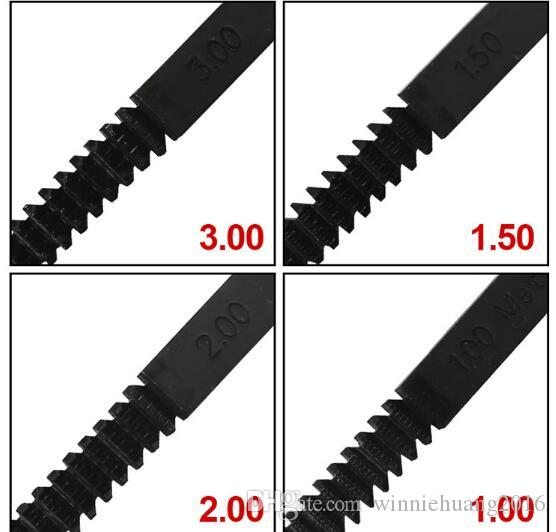 جودة عالية متعددة المواصفات 0.75/1/1 1.25 مصغرة موضوع النجارة الملفات الدوارة غرامة الأسنان متعددة شكل diy مقبض الصلب ملفات إصلاح أداة