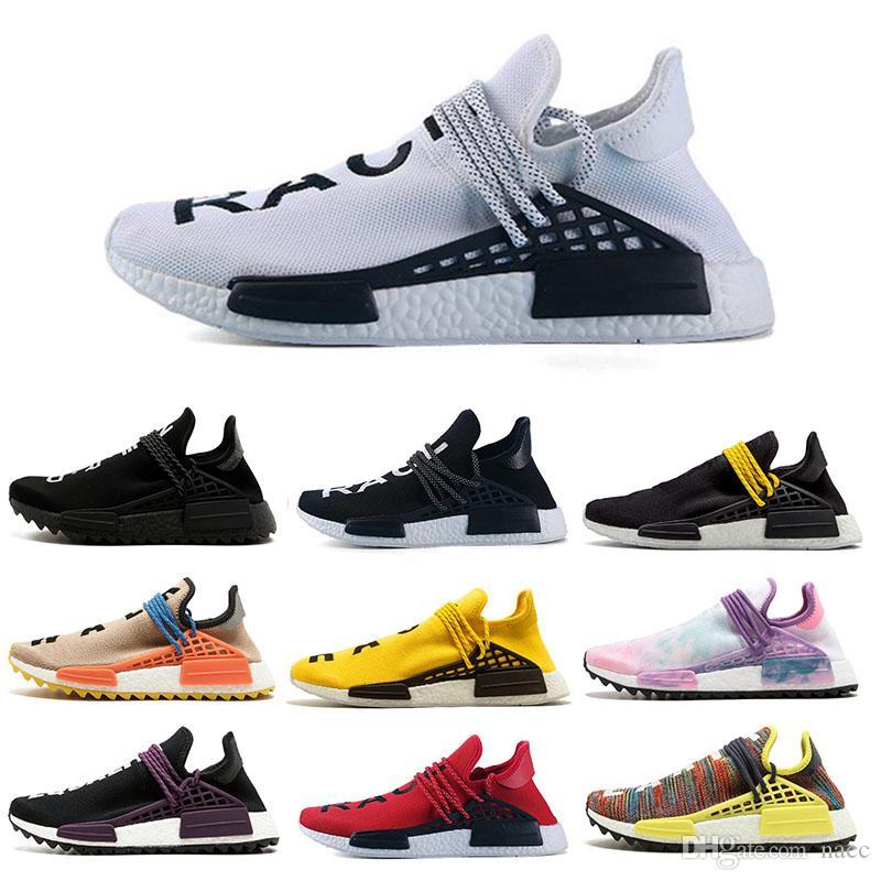 df92646e0 2019 2018 Cheap Wholesale NMD HUMAN RACE Pharrell Williams X 2016 Men S And  Women S Discount Cheap Fashion Sport Shoes Free Ship From Nacc