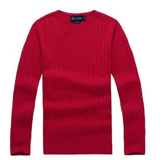 Trasporto libero 2018 nuovo miglio di alta qualità wile polo uomini di marca maglione maglione pullover maglione di cotone maglione pullover uomini