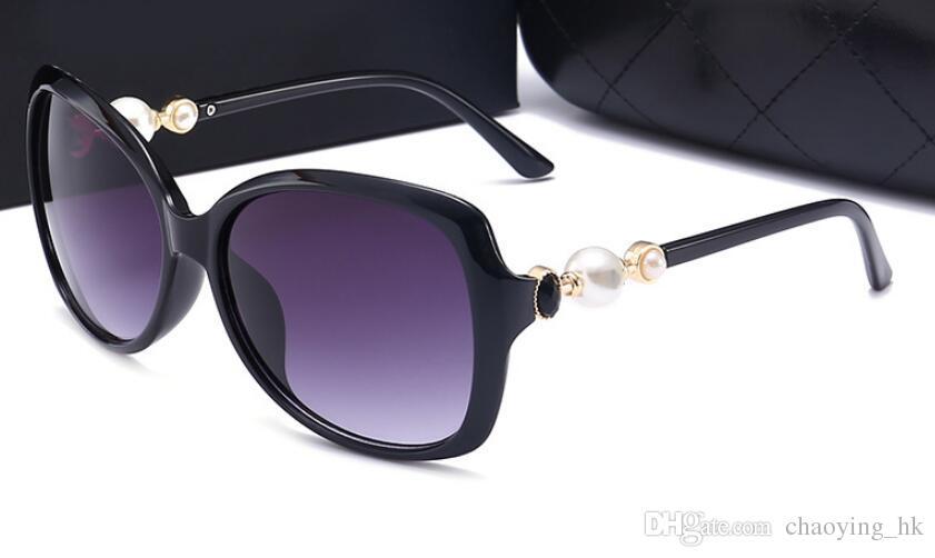 54d7e50bfc7 New Women s Sunglasses Driving Mirror Pearl Sunglasses Sunglasses ...