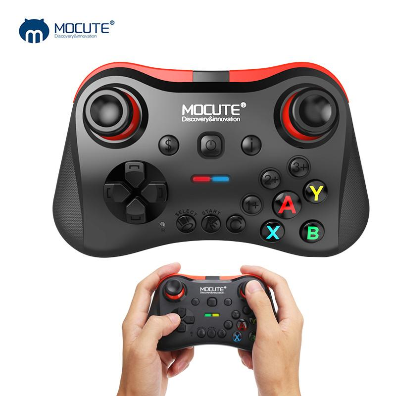 Mocute 056 Bluetooth Gamepad Android Wireless Joystick VR Controller  Fortnite Mobile Joypad for PUBG Smartphone Smart TV BOX PC