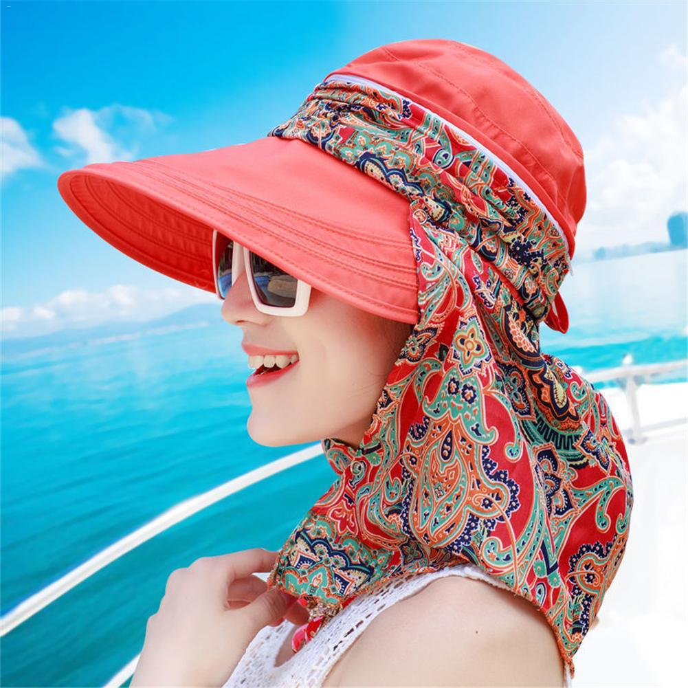 b9251fcc4df 2019 Breathable Foldable Open Top Linen Hat New Korean Style Beach Hat  Sunshade UV Protection Wide Brim Summer Visor Beach Cap From Lahong
