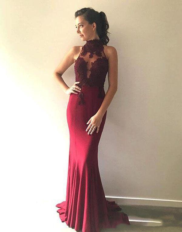 Plus Size Prom Dresses Sheath Evening Formal Dresses Long 2019 Sheer