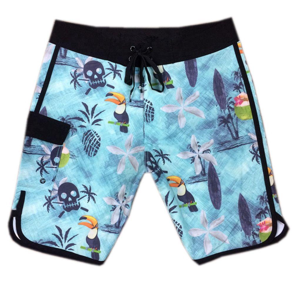 e623bc505c 2019 Elastane Spandex Relaxed Casual Shorts Mens Swimming Trunks Swimwear  Swim Pants Quick Dry Surf Pants Bermudas Shorts Board Shorts Swimtrunks From  ...