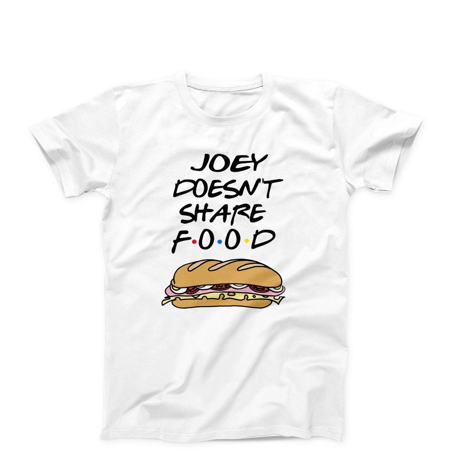Friends Joey Tribbiani Rachel Tv Show Funny Novelty T Shirt Tee Birthday  Gift Free Shipping Short Sleeves Cotton Fashion