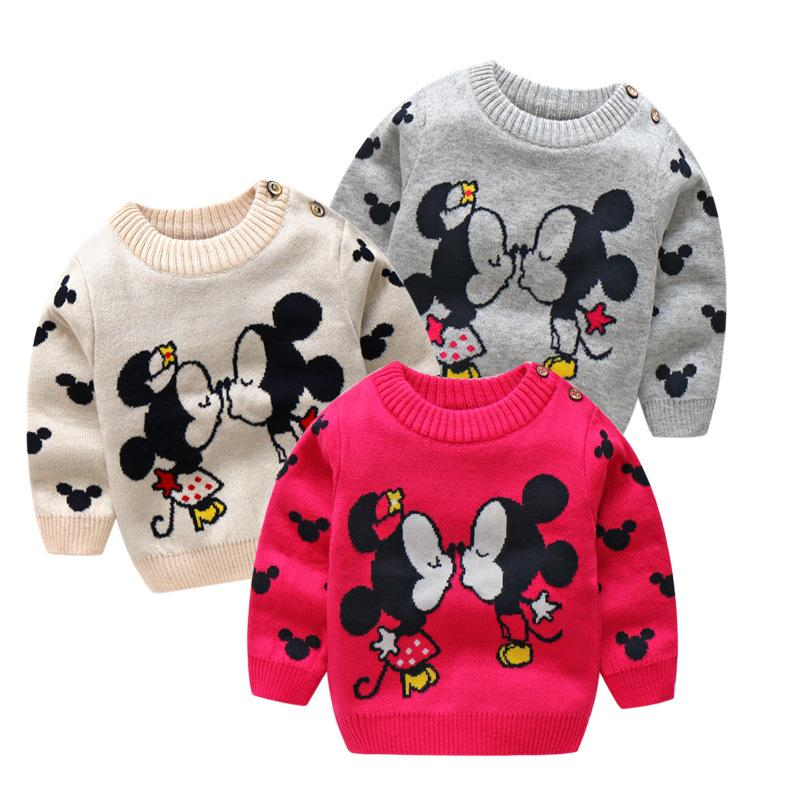 31e8d1e40 BibiCola Children Sweater Spring Autumn New Girls Baby Cartoon ...