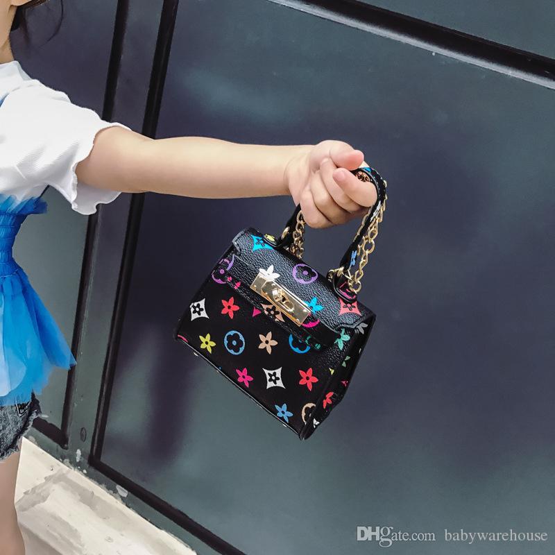 2018 neue Kinder Handtaschen Modedesigner Kinder Mini Geldbörse Schultertasche Teenager Mädchen Messenger Bags Nette Weihnachtsgeschenke für Kleine Mädchen