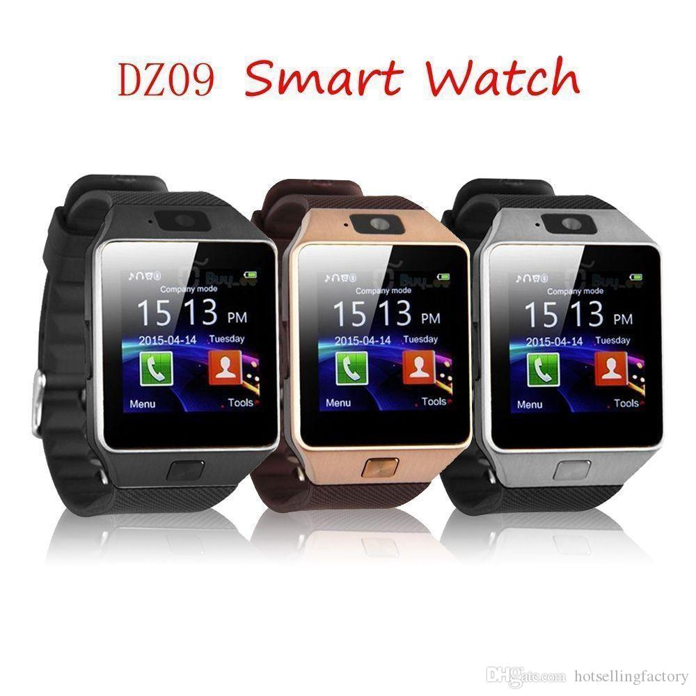 f3275b5ceeb DZ09 Bluetooth Smart Wristwatch Smartwatch With Camera SIM Card Slot And  Camera Pedometer Smart Health Watch For Android And IOS Smartphone  Smartwatch ...