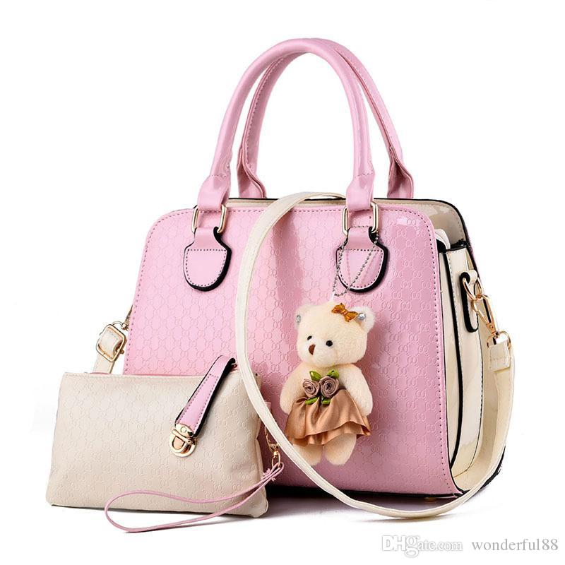 a33057da18 2018 Lady s Bag Ladies Shoulder Handbags Famous Brands for Women ...