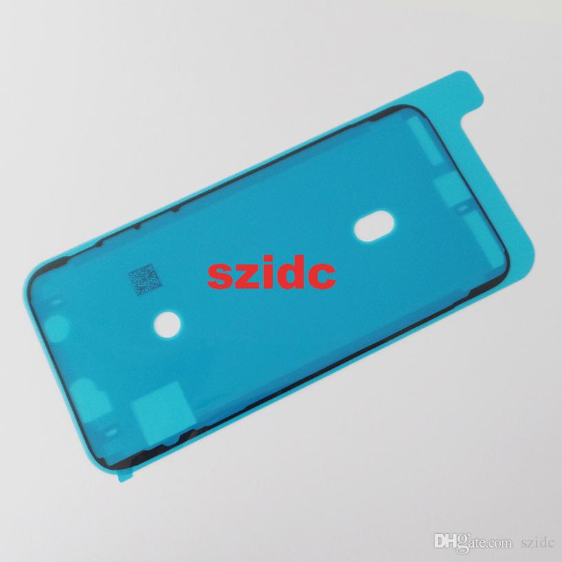 Original New Waterproof Adhesive Sticker For iPhone X LCD Front Housing Frame Free DHL EMS