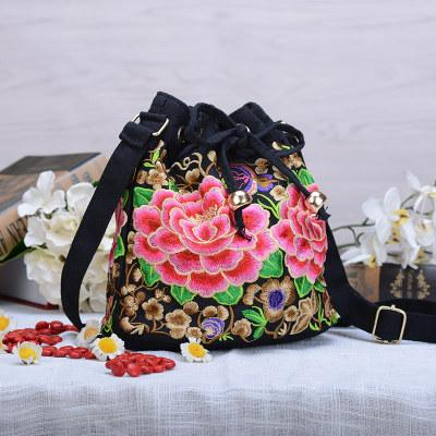c25f8113c8e Fashion National Embroidery Small Bags!Multi Handmade Floral Embroidered  Women Shoulder Crossbody Bags Versatile Vintage Carrier Satchel Handbags  Ladies ...