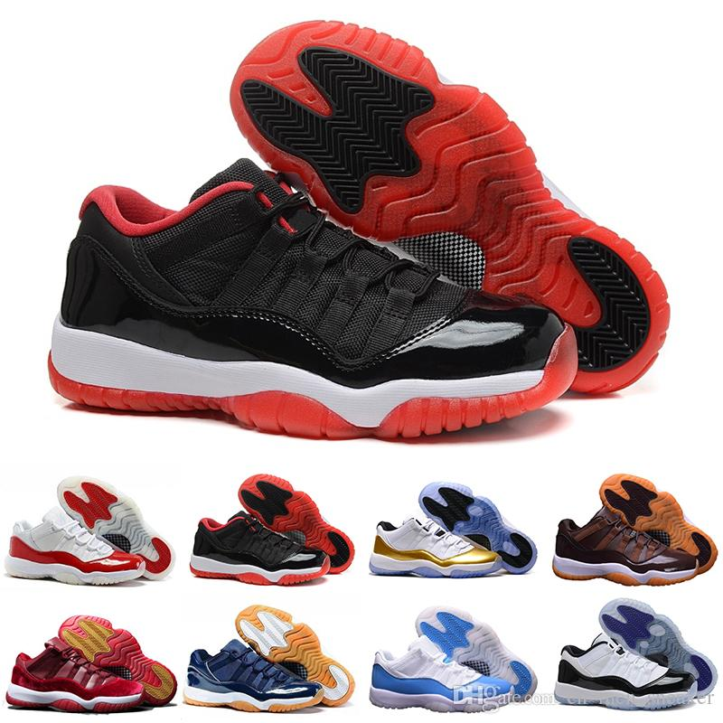 e60f1c8d3338 2018 Cheap Blue Sport Sneaker Trainers Low 11 Men Woman Basketball ...