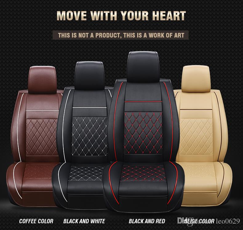 Custom Luxury Leather Car Seat Covers For Seats Mercedes A160 W203