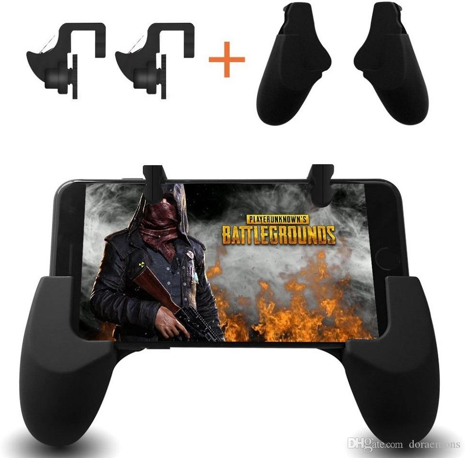Mobile Game Controller Smiler Sensitive Shoot And Aim Keys L1r1 Terios T3 Gamepad Bluetooth Holder Jp Android Smartphone Vr Box Tv For Pubg Rules Of Survival Gaming Joysticks Knives Out