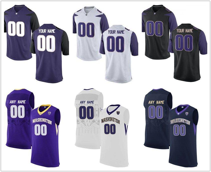 2018 NCAA Men S Custom Made Washington Huskies College Football Jerseys  Customized Purple White Black Stitched Basketball Jerseys Canada 2019 From  ... 71ac86afc