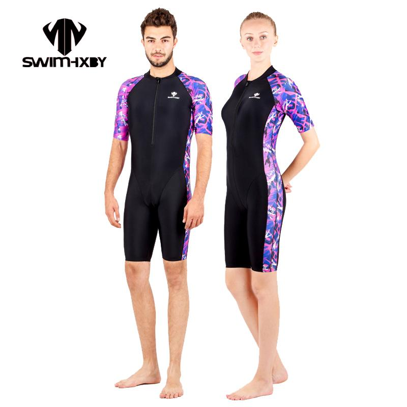 Novelty & Special Use Walking Shoes Hxby Men Professional One Piece Competitive Racing Body Swimsuit Girls Sport Surfing Body Jumpsuits Diving Rashguard Swimwear High Quality And Inexpensive