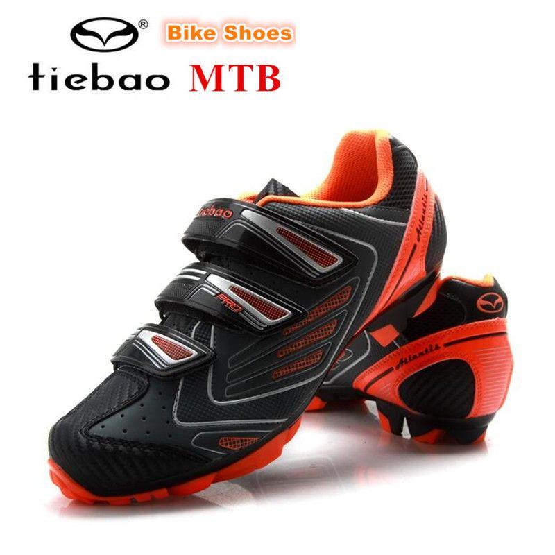 sports shoes bb397 8073a TIEBAO MTB Cycling Shoes Racing AutoLock SelfLock Bike SPD Bicycle Mountain  Shoes For Men Women Scarpa Da Ginnastica Anti-slip