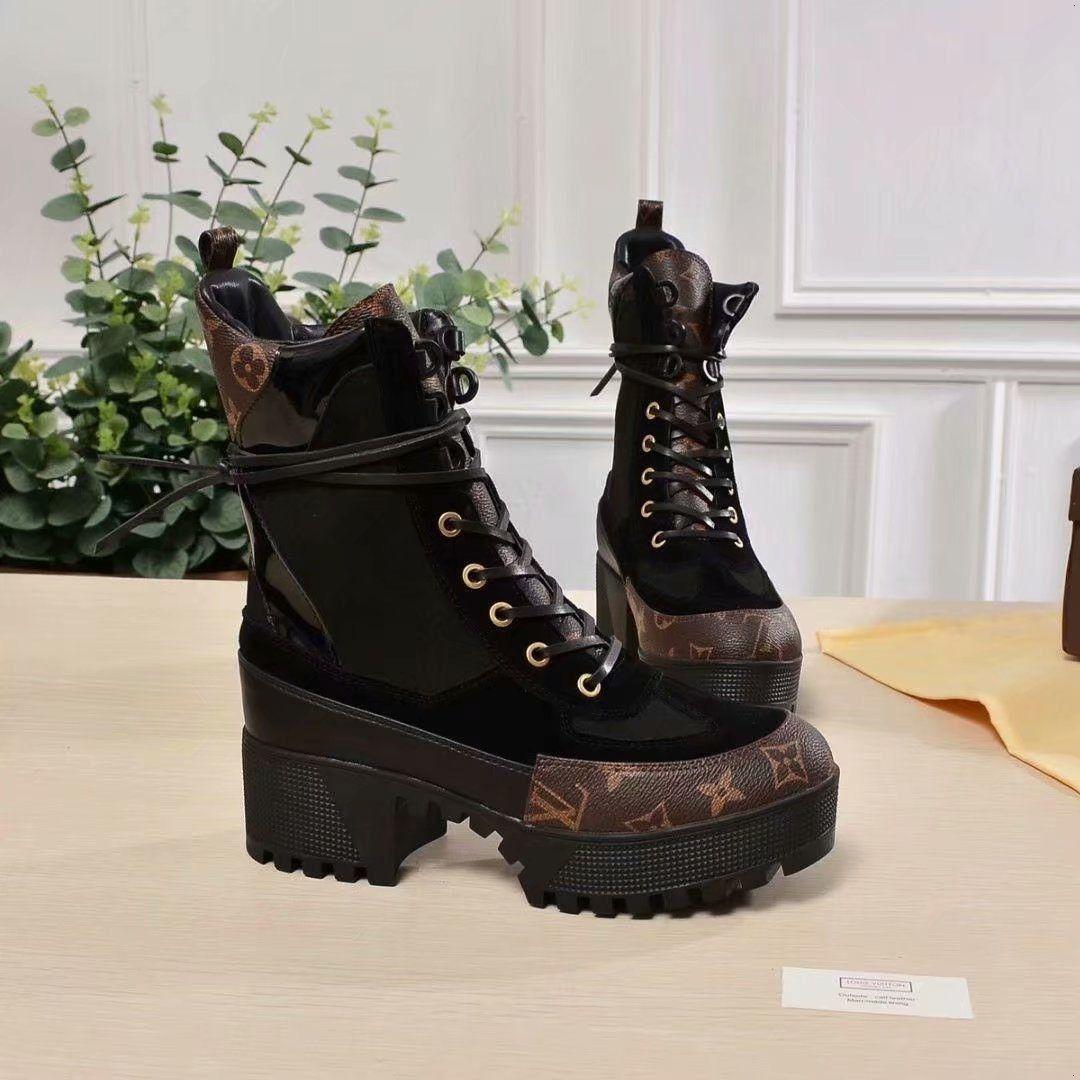 031819304b Großhandel 2019 Luxus Neue Laureate Plattform Desert Boot Designer Marke  Stiefeletten Mode Wildleder Martin Schuhe Schwarz Weiß Braun Größe 35 42  Von ...