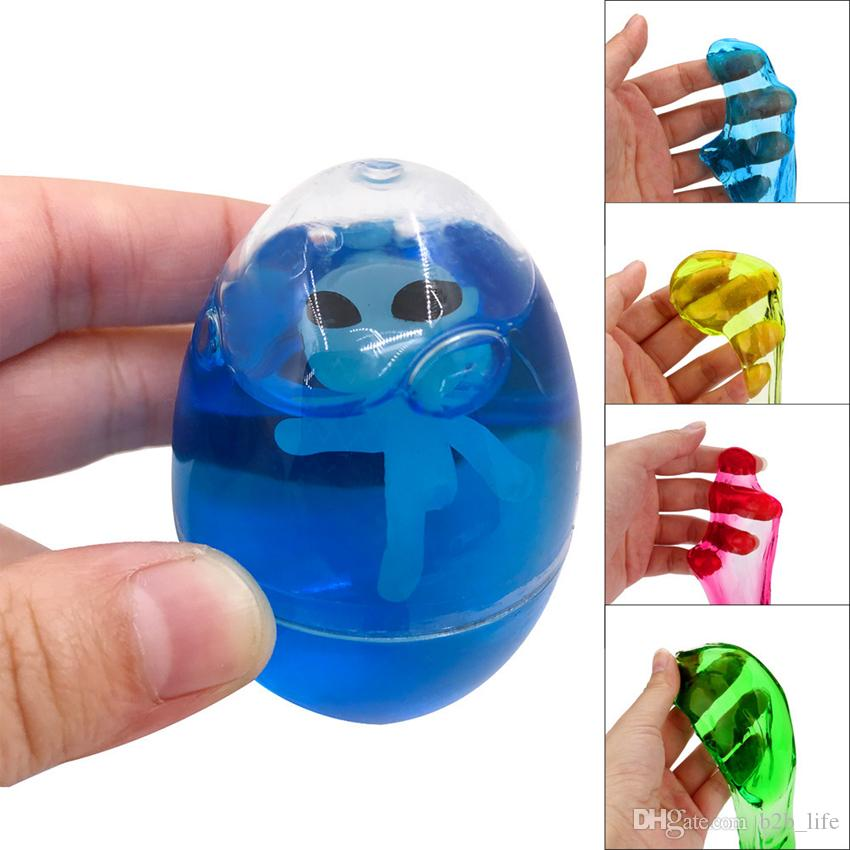 Fluffy Slime Mud Diy Alien Egg Crystal Stress Relief Toy Novelty Magic Egg Tricky Toys Ooa4770 Nz 2019 From B2b Life Nz 1 78 Dhgate Nz