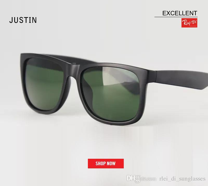 7c2711c8cd3b HOT Retro Gardient Justin Sunglasses Gradient Brown UV400 Sunglass Men Women  Draving Brand Designer Fashion Lunette Occhiali Sun Glasses Brand Sunglass  ...