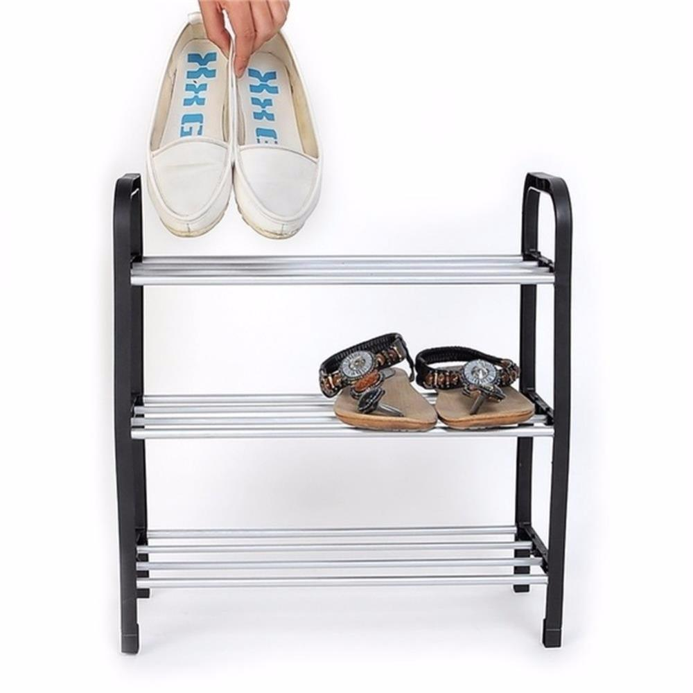 Hot Sell Multilayer Superior 3 Tiers Plastic Shoes Rack Storage  Multi Function Organizer Stand Shelf Holder Woven Simple Shoe High Quality Shoe  Rack China ...