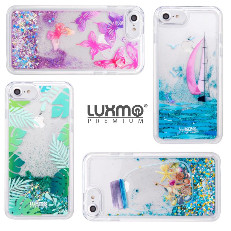 For IPhone X 8 7 6S 6 Plus Liquid Case Glitter Waterfall Quicksand Sparkly  Clear Water TPU Phone Cover For IPhone7 I7 7Plus Cell Phone Case Wallet  Cell ... 5e158e6b0abd